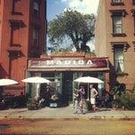 Photo taken at Madiba Restaurant by Brandon B. on 9/1/2012