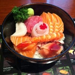 Photo taken at Hinote Sushi by Justin C. on 7/5/2012