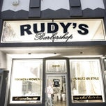 Photo taken at Rudy's Barber Shop by Carlos A. on 12/6/2012