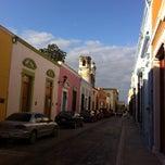 Photo taken at Plaza San Ignacio by Denni I. on 12/1/2014