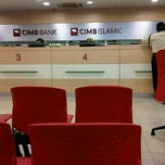 Photo taken at CIMB Bank Bandar Puteri Puchong by MiZsLurVe B. on 9/24/2012