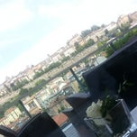 Photo taken at Roof Garden Restaurant by Alessia D. on 6/24/2014
