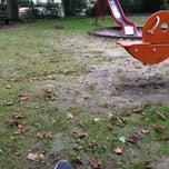 Photo taken at Spielplatz MLK Park by Gül G. on 8/31/2014