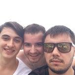 Photo taken at Entur Termal Otel Acik Havuz by Irfan T. on 9/7/2014