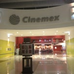 Photo taken at Cinemex by Gus m. on 3/19/2013