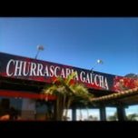 Photo taken at Churrascaria Gaúcha by Luiz D. on 10/13/2012