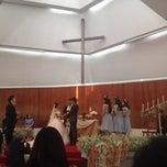 Photo taken at The First Church of Chiang Mai โบสถ์คริสตจักรที่ 1 เชียงใหม่ by Charin_dia on 1/31/2015