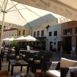 Photo taken at Caffe bar Giardino by Carol S. on 6/4/2014