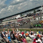 Photo taken at Pocono Raceway by Super Karate Monkey Death Car on 7/10/2013