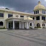 Photo taken at Istana Negara (National Palace) by Adet M. on 10/21/2012