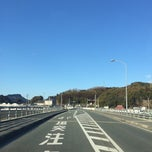 Photo taken at メルヘン大橋 by 54 on 2/1/2015