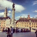 Photo taken at Place du Général de Gaulle by Vishal J. on 7/24/2013