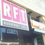 Photo taken at Riverfront Times by allison b. on 1/21/2015
