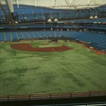 Photo taken at Tropicana Field by jimmy on 5/6/2013