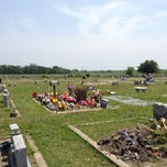Photo taken at Oaklawn Cemetery by TheSquirrel on 4/16/2013