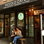 Photo taken at Piccolo Cafe by The Corcoran Group on 7/2/2013