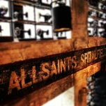 Photo taken at AllSaints by Justin Y. on 5/3/2012