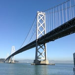 Photo taken at Under The Bay Bridge by Dim R. on 2/27/2013