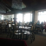 Photo taken at The Sundeck at Aspen Mountain by Paula S. on 3/4/2013