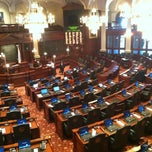 Photo taken at Illinois State Capitol by Mike B. on 2/6/2013