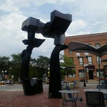 Photo taken at Sculpture Plaza by Ross on 8/2/2012