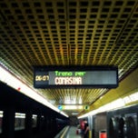 Photo taken at Metro Porta Romana (M3) by renzo g. on 7/26/2013