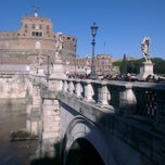 Photo taken at Ponte Sant'Angelo by lego s. on 12/9/2012