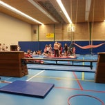 Photo taken at Sporthal Gulpdal by Gulden Hoeck- Eric Kaelen on 12/3/2013
