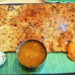 Photo taken at House of Dosas by Janet B. on 4/9/2012