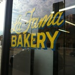 Photo taken at La Fama Bakery by An 🍳 on 4/19/2012