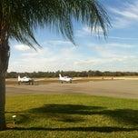 Photo taken at Leesburg International Airport (LEE) by Jin won C. on 12/20/2011