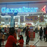 Photo taken at Carrefour by Arindra Y. on 1/4/2012