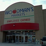 Photo taken at Woodman's Food Market by Dustin W. on 1/4/2012