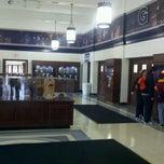 Photo taken at McDonough Gymnasium, Georgetown University by Drew W. on 1/3/2012