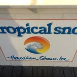 Photo taken at Tropical Sno by Logan G. on 6/9/2012