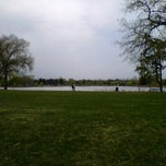Photo taken at Huston Lake Park by Ian D. on 4/11/2012