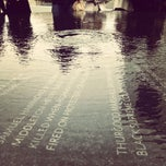Photo taken at Civil Rights Memorial Center (SPLC) by Arielle Y. on 2/28/2012
