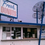 Photo taken at Stardust Donut Shop by Samer K. on 1/22/2012