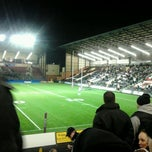 Photo taken at Select Security Stadium Halton by Cat A. on 2/3/2012