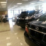 Photo taken at Lexus of Manhattan by Alan K. on 9/8/2012