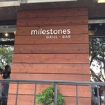Photo taken at Milestones Grill & Bar by Mammoth D. on 7/22/2012