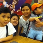 Photo taken at Shakey's Dau by Dina S. on 9/28/2011