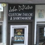 Photo taken at John DiPietro Custom Tailor by Kevin B. on 3/3/2012