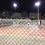 Photo taken at Tennis Club Boumhel by Badreddine H. on 8/2/2012