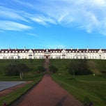 Photo taken at Trump Turnberry, a Luxury Collection Resort, Scotland by Sandra K. on 5/22/2012