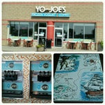 Photo taken at Yo-Joe's Frozen Yogurt & Coffee Shoppe by Aaron E. on 7/3/2012