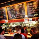 Photo taken at Baja Burrito by Brad H. on 5/25/2012