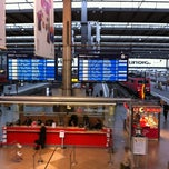 Photo taken at München Hauptbahnhof by Stephan T. on 4/16/2012