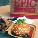 Photo taken at Epic Burger by Miss V. on 1/3/2012