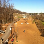 Photo taken at Piedmont Park Dog Park by Ed A. on 12/18/2011